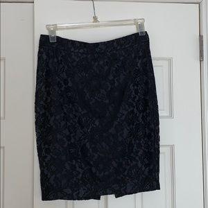 Victoria's Secret Lace Black Skirt